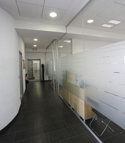 Corridoio uffici piano terra