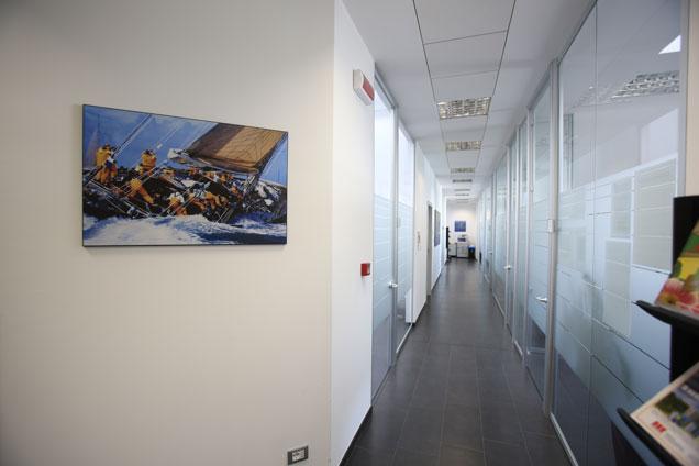 Corridoio uffici primo piano